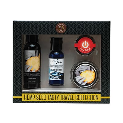 Hemp Seed Tasty Travel Collection | Hemp Seed By Night | Shop Earthly Body