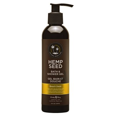 Hemp Seed Shower Gel | 8 oz | Beach Daze Scent | Buy Hemp Seed Oil Shower Gel Online