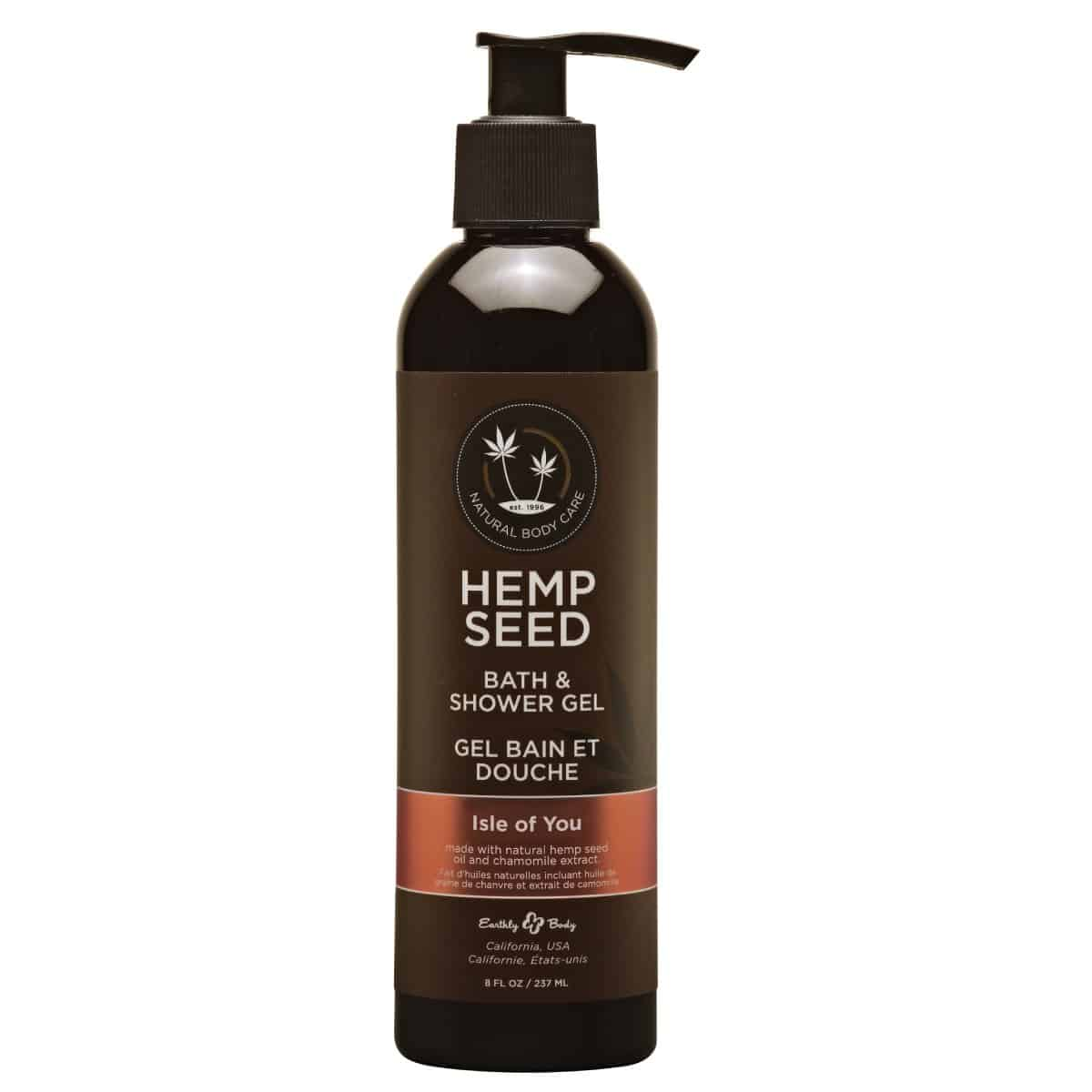 Hemp Seed Shower Gel | 8 oz | Isle Of Your Scent
