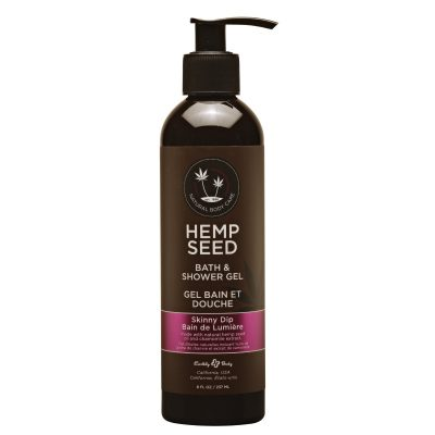 Hemp Seed Shower Gel | 8 oz | Skinny Dip Scent | Shop Hemp Seed Shower Gel Online | Hemp Seed Body Care