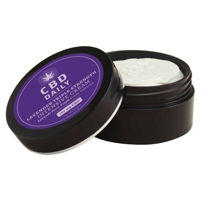 CBD Daily Intensive Cream - Triple Strength - 1.7 oz- Lavender Scent | Buy CBD Cream Online | CBD Daily Since 1996